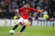 It's 10 years since Ronaldo first scored for United, so here's one of his best goals