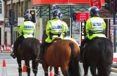 Police officer sued over dribbling horse
