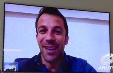 Australian rugby stars have 'Skype date' with Alessandro Del Piero