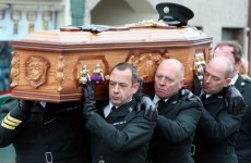 PC Ronan Kerr laid to rest in Co Tyrone