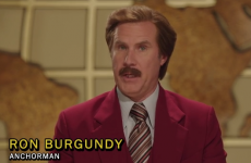 Ron Burgundy's message for Ireland about the Love/Hate finale