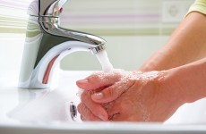 Twenty per cent of people don't wash their hands after using public toilets