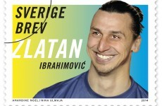 Zlatan is getting his own set of stamps in Sweden