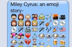 This emoji biography of Miley Cyrus is frighteningly accurate