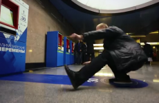 You can now pay for train tickets in Russia with exercise