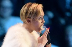 Miley Cyrus under police investigation for smoking joint on stage