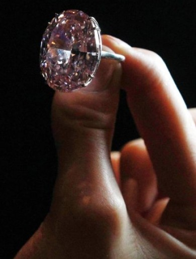 """Pink Star"" diamond sells for world record €61 million"