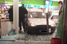 Five injured as van ploughs into Ennis supermarket
