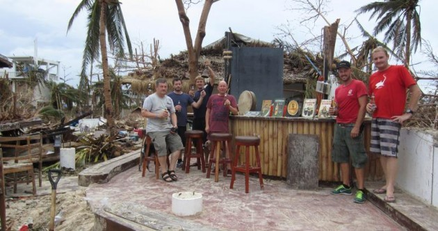 In the wake of the storm: Before and after photos of Irish bar show extent of Philippines devastation