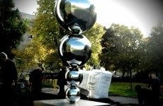 Trinity's 'sex toy' sculpture gets a visit from the Government (NSFW)