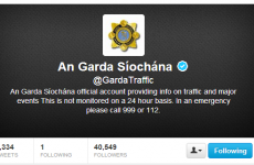 Gardaí to use Twitter for major emergency alerts
