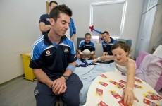 Footballer of the Year has 'a beautiful heart'