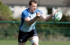 Leinster look for some go-forward
