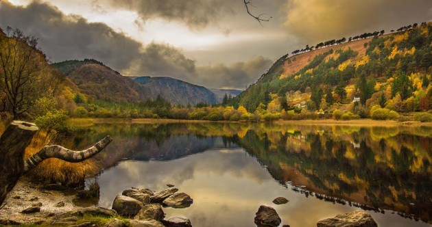 Glorious: See Glendalough in all its autumnal technicolour