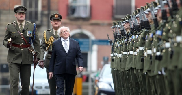 Pictures: Founding of Irish Volunteers marked at Garden of Remembrance