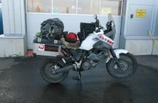 Round-the-world biker has bike stolen in Dublin