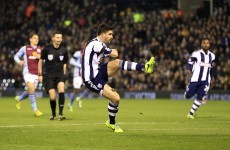 Sublime Shane Long fizzes in Baggies double but Villa snatch draw