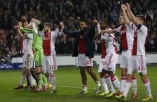 CL wrap: Ajax stun Barcelona to end unbeaten run