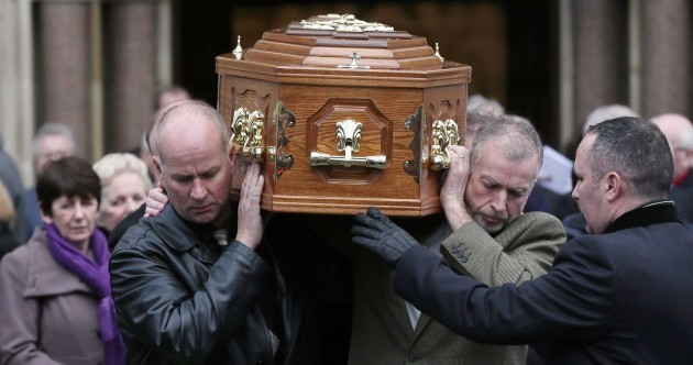 Pictures: Funeral Mass for Fr Alec Reid held in Belfast