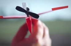 Paper airplanes get an upgrade with smartphone-powered engine