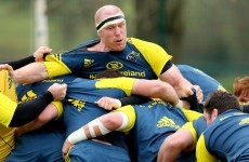 SLIDESHOW: Paul O'Connell back at work with Munster