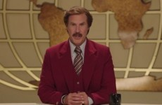 Ron Burgundy has a Late Late Toy Show message for you