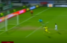 GIF: Man United misfit Bebe misses an absolute sitter in the Europa League