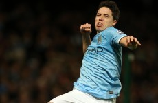 Nasri double helps City to win over Swansea