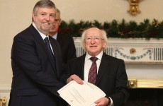 Welcome aboard: President appoints Peter Tyndall as Ombudsman