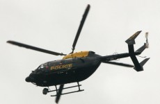 Man arrested in London for shining a laser at a police helicopter