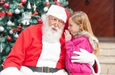 Do you call him Santa or Santy?