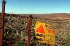 Irish troops' vehicle in Syria blast 'struck a mine' while reversing