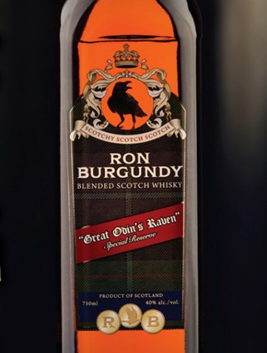 Ron Burgundy gets his own scotch, finally