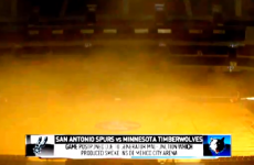 NBA game evacuated after smoke engulfs arena