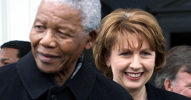 In pictures: Mandela's Irish visits