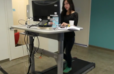 Would you try a treadmill desk? After you…
