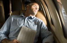 Man falls asleep during flight, wakes up on empty plane