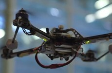 Watch: Failsafe tech keeps drone flying even when damaged