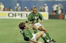The story behind great Irish sports pics: Ray Houghton, 1994