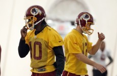 RG3 rested for remainder of NFL season