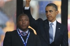 'Fake' deaf interpreter at Mandela memorial says he had 'schizophrenic episode'