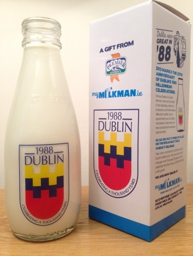 Millennium milk bottles are coming back to Irish doorsteps