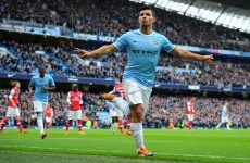 All nine goals from Man City's crazy win over Arsenal