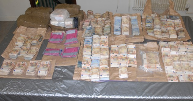 One in custody and one released in €1m cash investigation