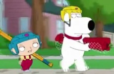 Brian Griffin is resurrected in the Family Guy Christmas special