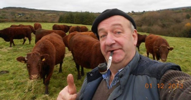 Irish farmers are taking selfies for a Facebook competition