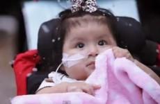 Hospital turns grounds into winter wonderland for sick kids