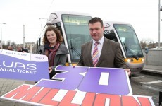 Another record year for Luas as passenger numbers continue to rise