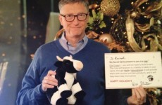 Bill Gates did a Secret Santa with someone on the internet