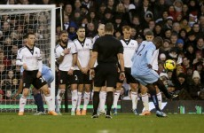VIDEO: Yaya Toure guides in another inch-perfect free kick for City
